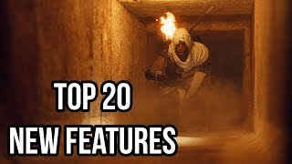 Assassin's Creed Origins - Top 20 New Features!