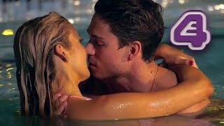 Joey Essex & Stephanie Pratt Kiss in the Pool   Celebs Go Dating