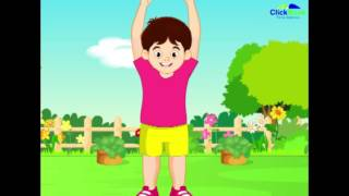 Raise your hands Nursery Rhyme for Children