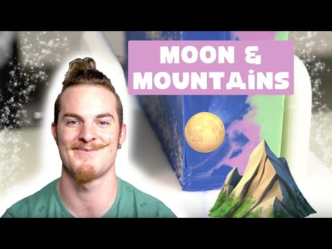 Making Sculpted Layers A Moon & Mountain Cold Process Soap Royalty Soaps