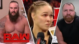 WWE Raw 17 October 2018 Roman Reigns Attack Brock Lesnar HD