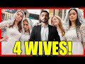 Download Video Download Walking with 4 Wives in New York City 3GP MP4 FLV
