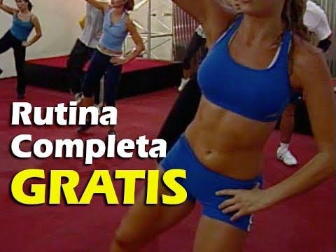Rutina COMPLETA de TAEROBICS 30 minutos de Cardio Kickboxing en Español