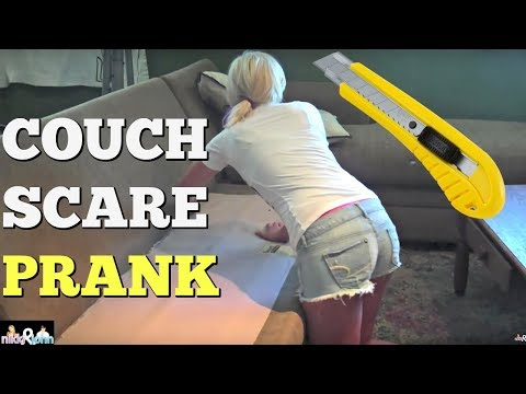 Crazy Couch Prank