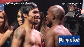 Manny Pacquiao vs Timothy Bradley 2 [Full Weigh In]