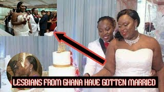 Two Ghanaian Lesbians Got Married Today