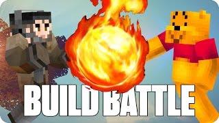 ¡BATALLA DE MAGOS! BUILD BATTLE | Minecraft con Luh