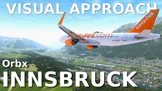 [FSX] ORBX INNSBRUCK || DIFFICULT APPROACH || *NEW SCENERY*