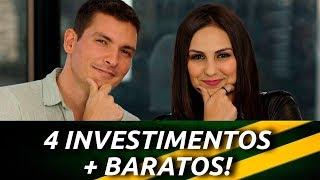 Invista com POUCO DINHEIRO! 4 investimentos BARATOS com Bruno Perini - Você Mais Rico