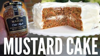 MUSTARD CAKE Maille Zesty | You Made What?!