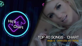 Hit's Chart - TOP 40 Songs (March 2014 - 01/03/2014)