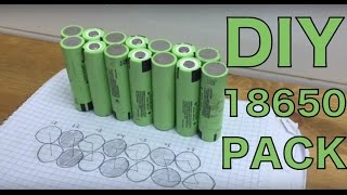How to build a DIY ebike battery from 18650 cells