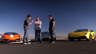 Lamborghini drag-race - Top Gear USA - Series 1