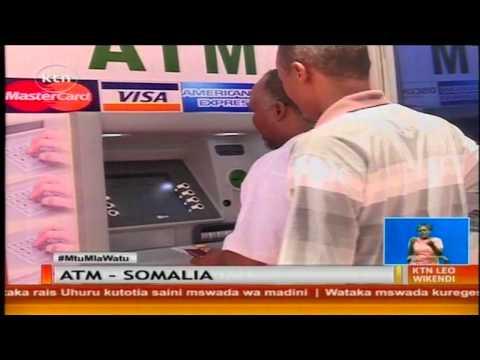 Huduma muhimu kama vile utumizi wa mtambo wa ATM ni nadra katika mji mkuu wa Mogadishu.