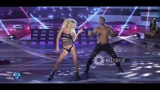 Rocío Guirao Díaz y Nicolás Paladini hicieron un reggaeton ultra hot