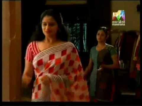 Malayalam serial actress Sreejaya rare Navel Slip