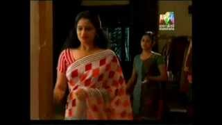 Malayalam serial actress Sreejaya rare Navel Slip