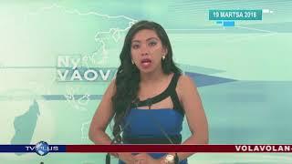 VAOVAO DU 19 MARS 2018 BY TV PLUS MADAGASCAR