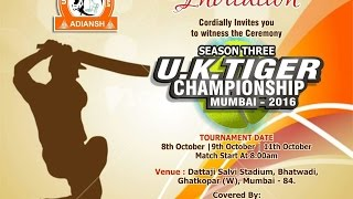 Uk Tiger Championship 2016 , Ghatkopar