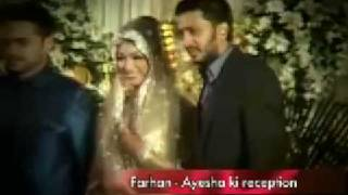 Ayesha Takia's wedding reception
