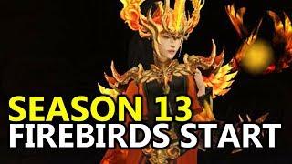 ♥ Baby FIrebird Wizard - Season 13 Begins (Diablo 3 Gameplay)