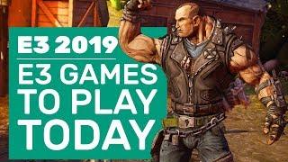 8 E3 Games You Can Play Right Now | E3 2019 PC Game Demos