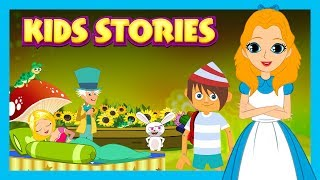 Kids Stories (English) - Alice In The Wonderland, Pinocchio And The Sleeping Beauty