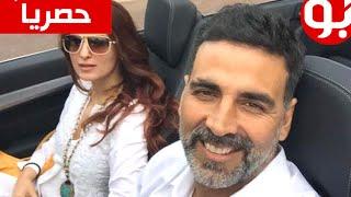 أكشاي كومار وزوجته الحقيقية توينكل خانا