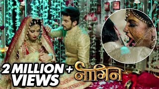 (Video) Shivanya Attacks Ritik On Their Suhaagraat | Naagin | Colors