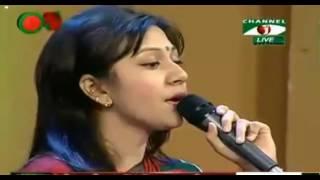 Amar maje nai akhon ami by Pranti   Live studio concert
