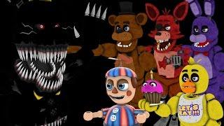 [SFM FNAF] EthGoesBOOM Halloween Special!!! || FNAF 4 Night 8