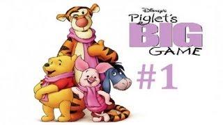 Piglet's BIG GAME - Walkthrough Part 1 - [HD] (PS2/GameCube/GBA)