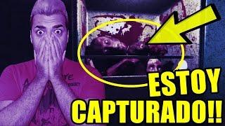 ADVERTENCIA! ESTE VÍDEO ES VIOLENTO Y GORE! | Estoy capturado y un asesino me persigue!! - captured