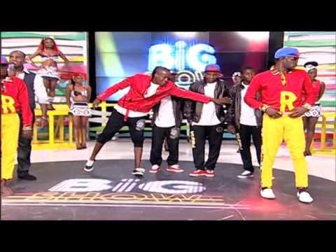 Veja o duelo entre grupo de dança Zona Perigosa e o Trio Rir TV Zimbo