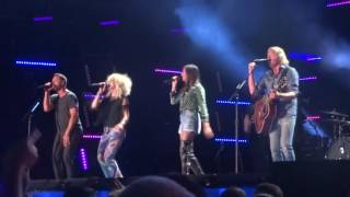"""Little Big Town sings new song """"Miracle"""" at CMA Fest 2016"""