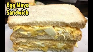 How To Make Egg And Mayo Sandwich / Healthy Recipe / Sandwich For Breakfast By Yasmin