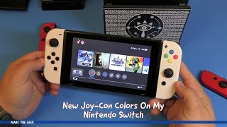 New Joy-Con Colors On My Nintendo Switch