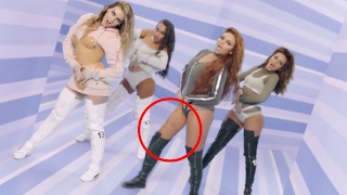 Little Mix Fans Go CRAZY Over 'Touch' Music Video Photoshop FAIL - Look at Jesy Nelson's Leg!! 😱
