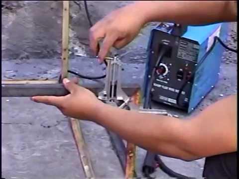 prensas para esquina soldar flux core microalambre