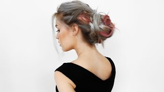 Super Big and Messy Updo with VP Fashion Extensions