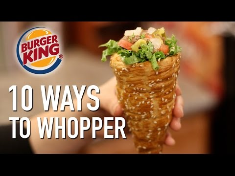 10 Ways to Whopper Featuring the Whopperrito