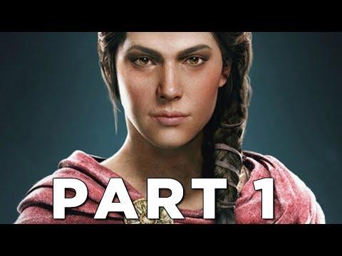 ASSASSIN'S CREED ODYSSEY Early Walkthrough Gameplay Part 1 - Kassandra (AC Odyssey)