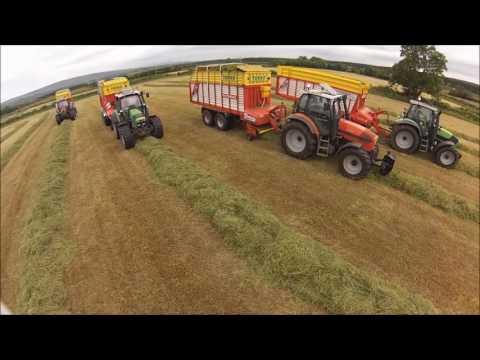 Silage 2016 - Kilmean Farms N.I. (HD)