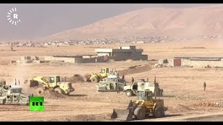 Iraqi govt army and Peshmerga continue Mosul operation to free city from ISIS (Streamed Live)