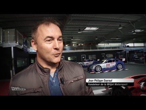 Visite Usine Mitjet Motorsport Rencontre avec Jean Philippe Dayraut émission Grand Tourisme