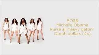 Fifth Harmony  - BO$$/BOSS (Lyrics)
