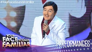 "Your Face Sounds Familiar: Kean Cipriano as Dolphy - ""Fly Me To The Moon"""