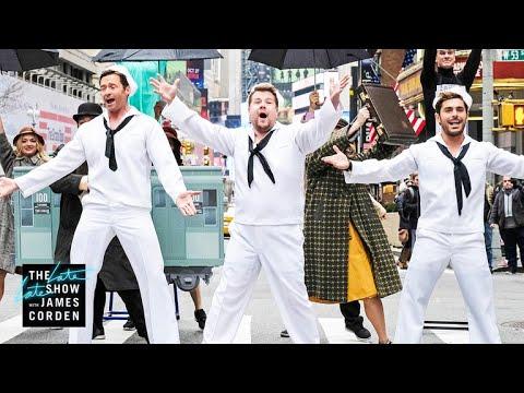 Crosswalk the Musical on Broadway (w Hugh Jackman, Zendaya & Zac Efron)