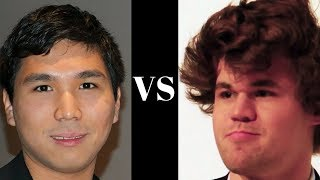 Wesley So vs Magnus Carlsen : A dangerous rook invitation to the 7th rank : Super-GM Chess Battle