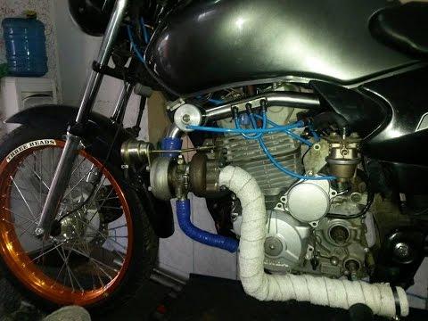 CG com motor de CB 300 turbo !!